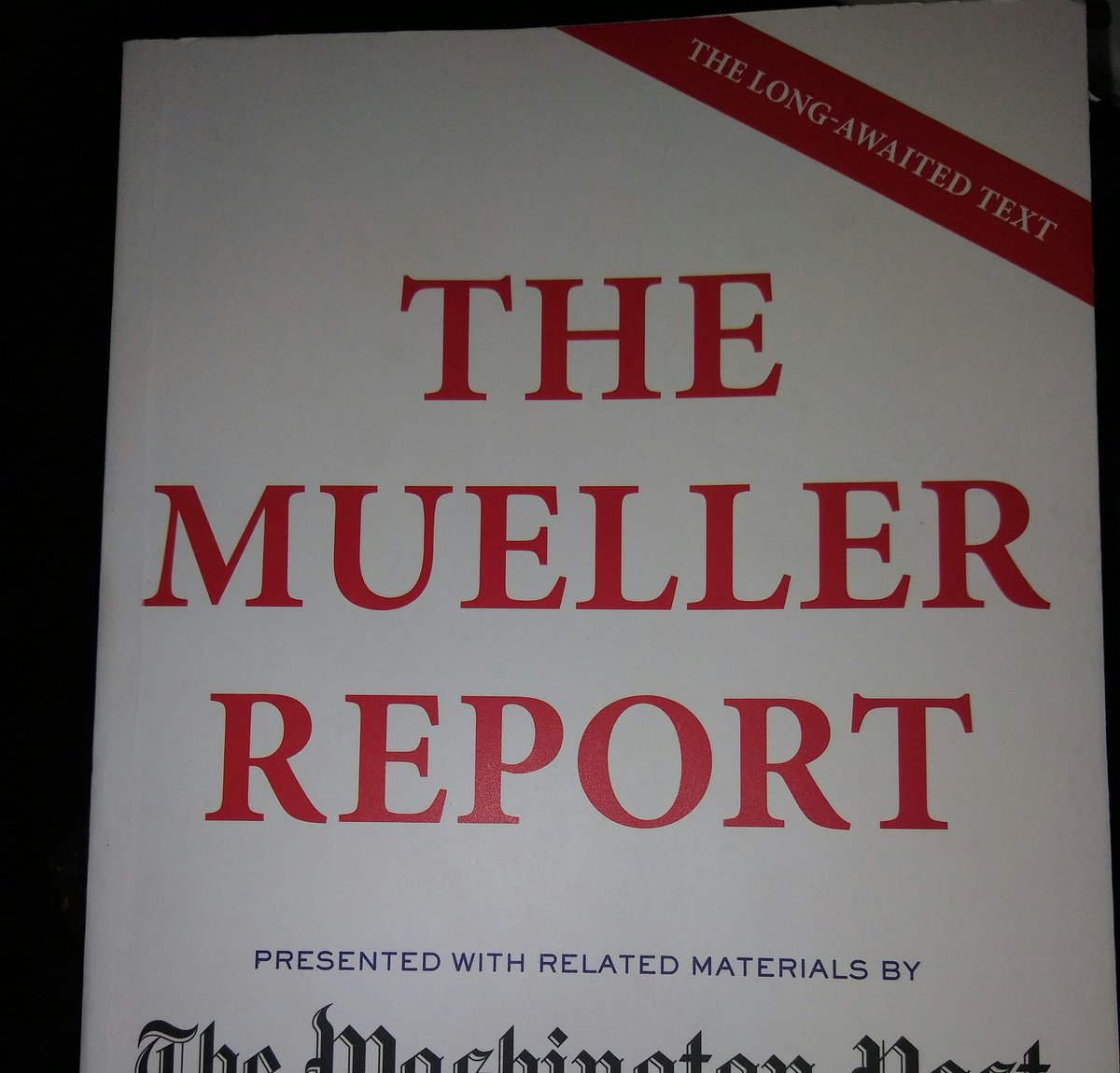YUGER even... the #MuellerReport YOOOGEST EVER SEEN BY ANYBODY ANYWHERE IN EVEREST HISTORY. Most people don't know, right? YUGE STORY!! @realDonaldTrump his @GOP cohorts & family of corruption LIE ALL THE TIME #BarrCoverUp #LockMnuchinUp #ImpeachTrump #lindseygrahamobstructed <br>http://pic.twitter.com/LR8iCCwdvg