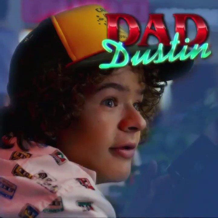 * air guitar * its Dad Dustin.