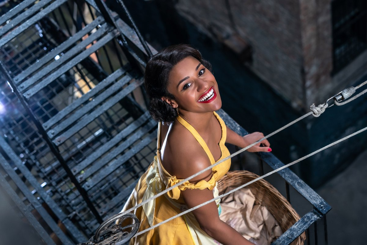 Excited to share the first look at Anita. See her light up the big screen in #WestSideStory on December 18, 2020.