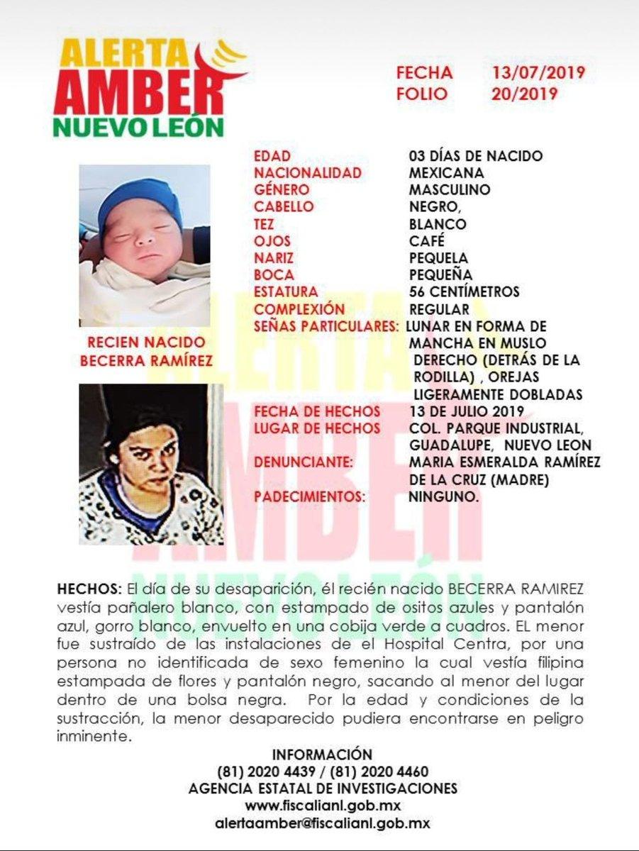 RT @FiscaliaNL: Rogamos su ayuda en la búsqueda de este menor. Es importante que compartan la información. https://t.co/rR6EGp4kjS