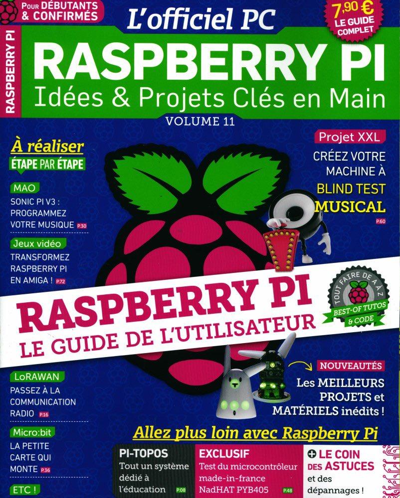 L'officiel PC Raspberry Pi n11 est sortit avec un super article sur Daylight Linux ! #raspberrypi #daylight #linux https://t.co/BECrnKibsm