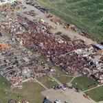 Image for the Tweet beginning: Roanoke, IL F4 #Tornado –