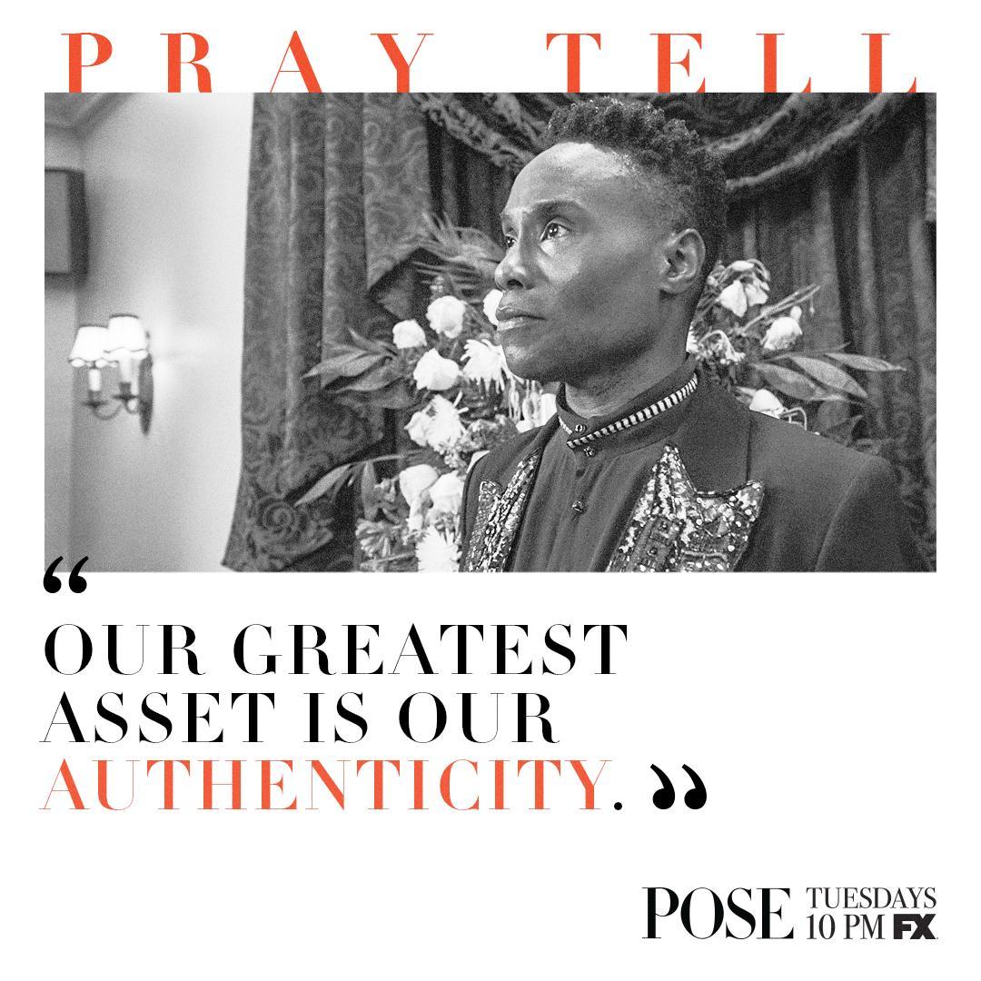 Live a life authentic to you. #PrayTellEm #PoseFX