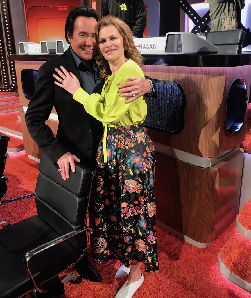 I loved working w/the beautiful @sandrabernhard again & BTW she is an incredible dancer. RT @matchgameabc: Spreading the #MatchGame love! 🤗 @WayneNewtonMrLV @SandraBernhard