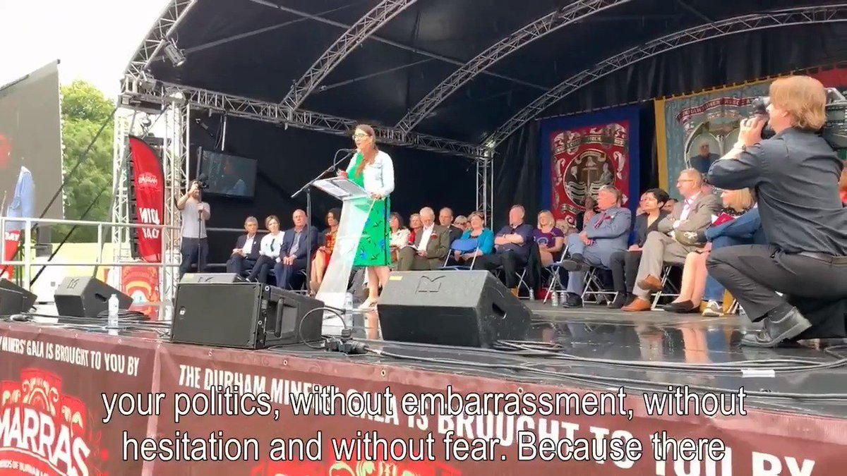 """My speech at the #BigMeeting: """"Take your anger, take your pain & your frustration & take your deep dissatisfaction with this system & occupy every single space with your politics, without embarrassment, without hesitation & without fear."""" Full video here: https://youtu.be/P1APSxZfNss"""