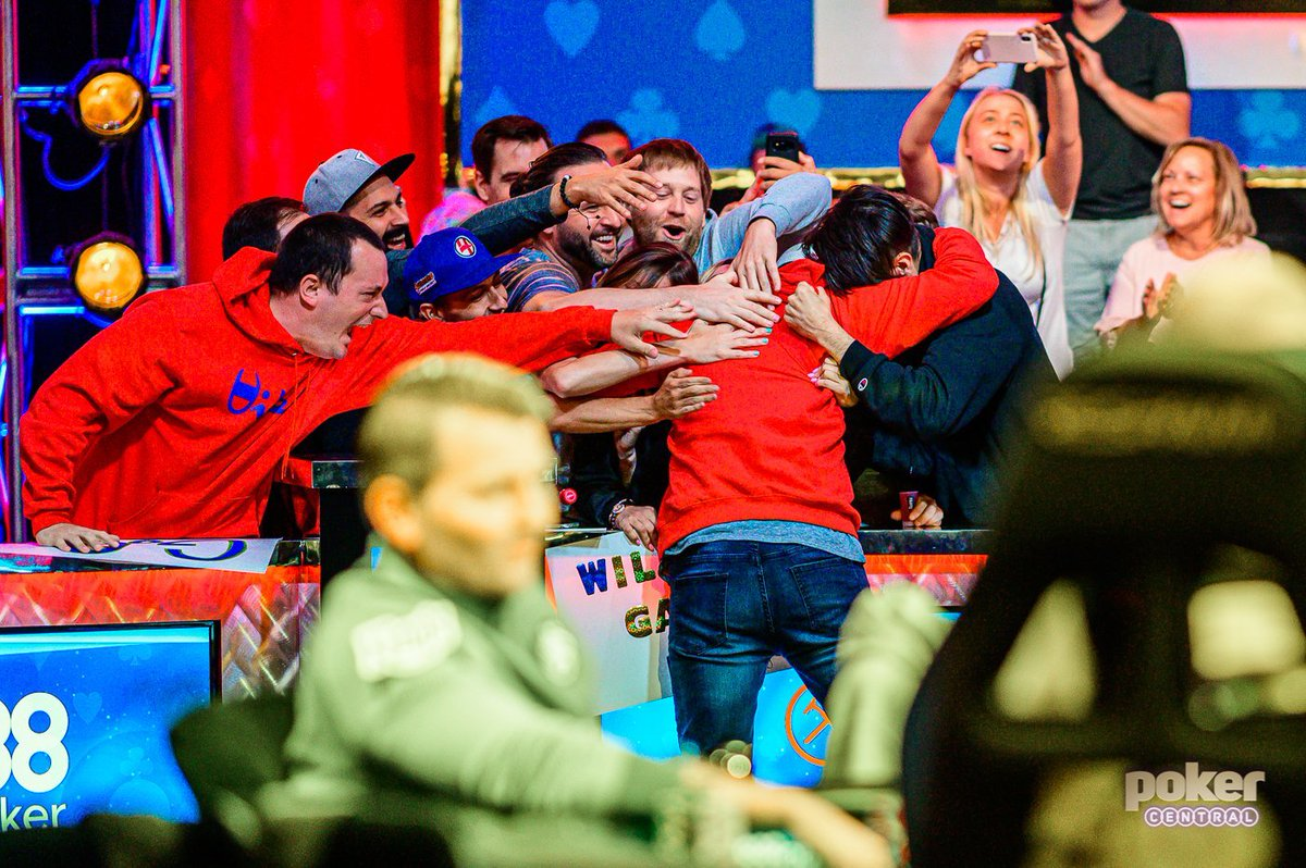 WSOP FINAL TABLE... goosebumps, tears, ALMOST poop in pants. @GarryGates second in chips. WOW.