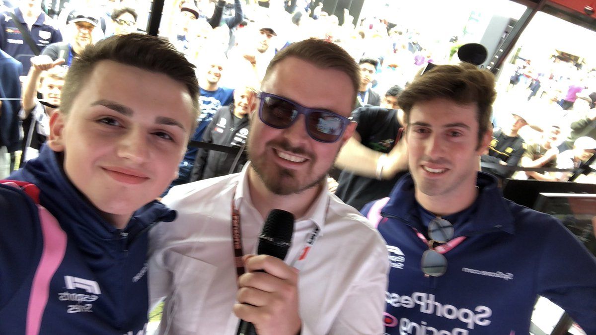 Not the best picture I've taken, but that doesn't change the fact that seeing you guys and having your support today in the F1 Fanzone has been incredible! Thank you!  #makeitcount #F1Esports