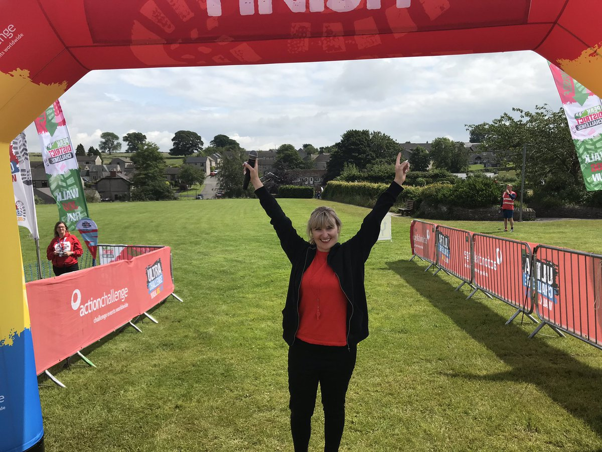 Had such a great time @ActionChallenge 25k line! Congrats everyone that's done/doing the #ultrachallenge you are amazing x #peakdistrict #actionchallenge #eventspresenter