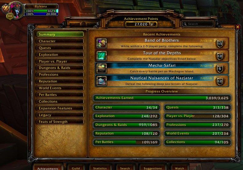 I broke my 27,000 achieve point marker today! #Warcraft! #selfies #achievementfarmer<br>http://pic.twitter.com/vcexuqMOFU