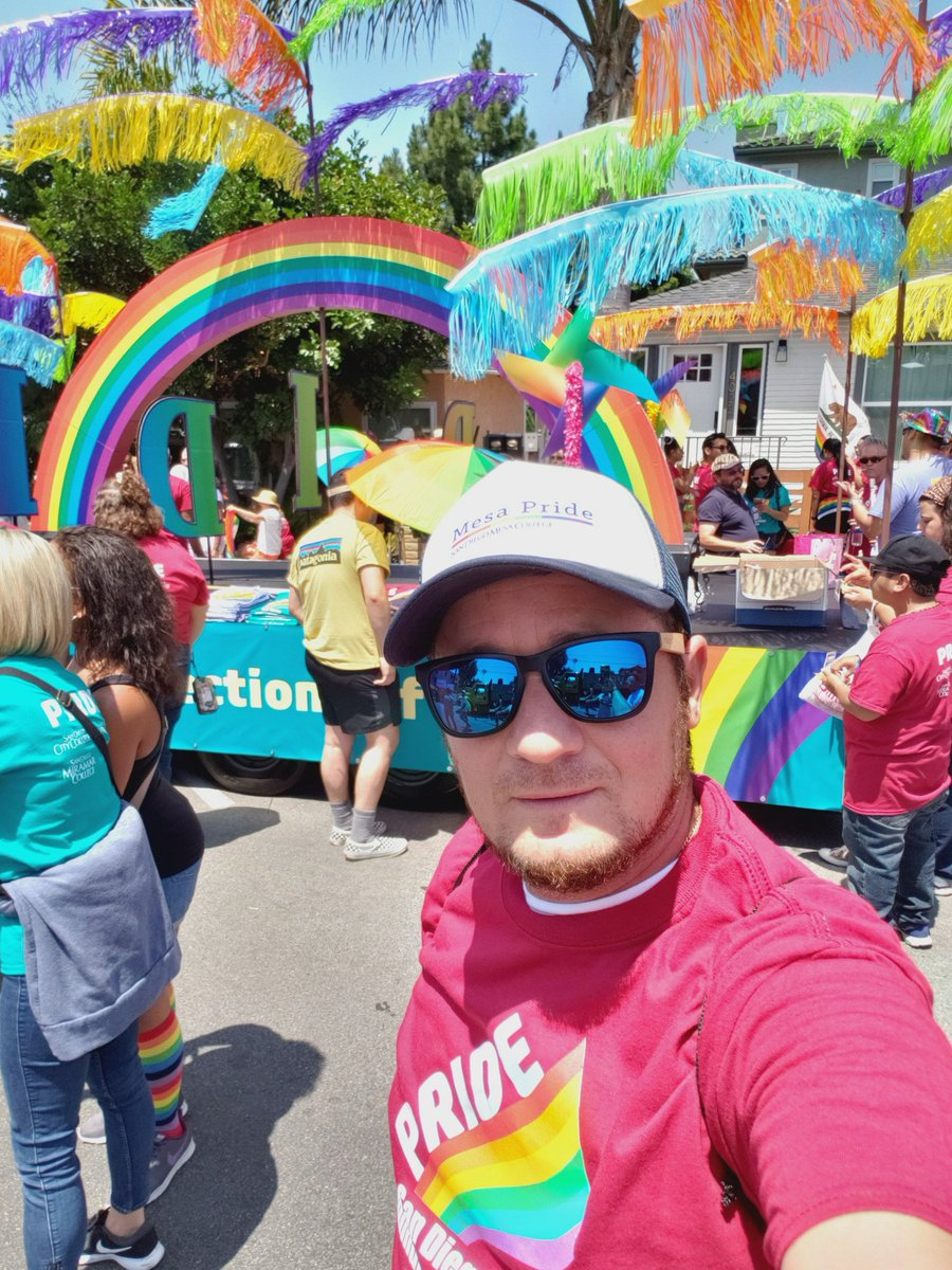 For my #community, #studentlife, #DiversityandInclusion and #CubaPride , I'm here today. #SDMesaPride #OlympianPride #SDPride.<br>http://pic.twitter.com/mIDqhbASuf