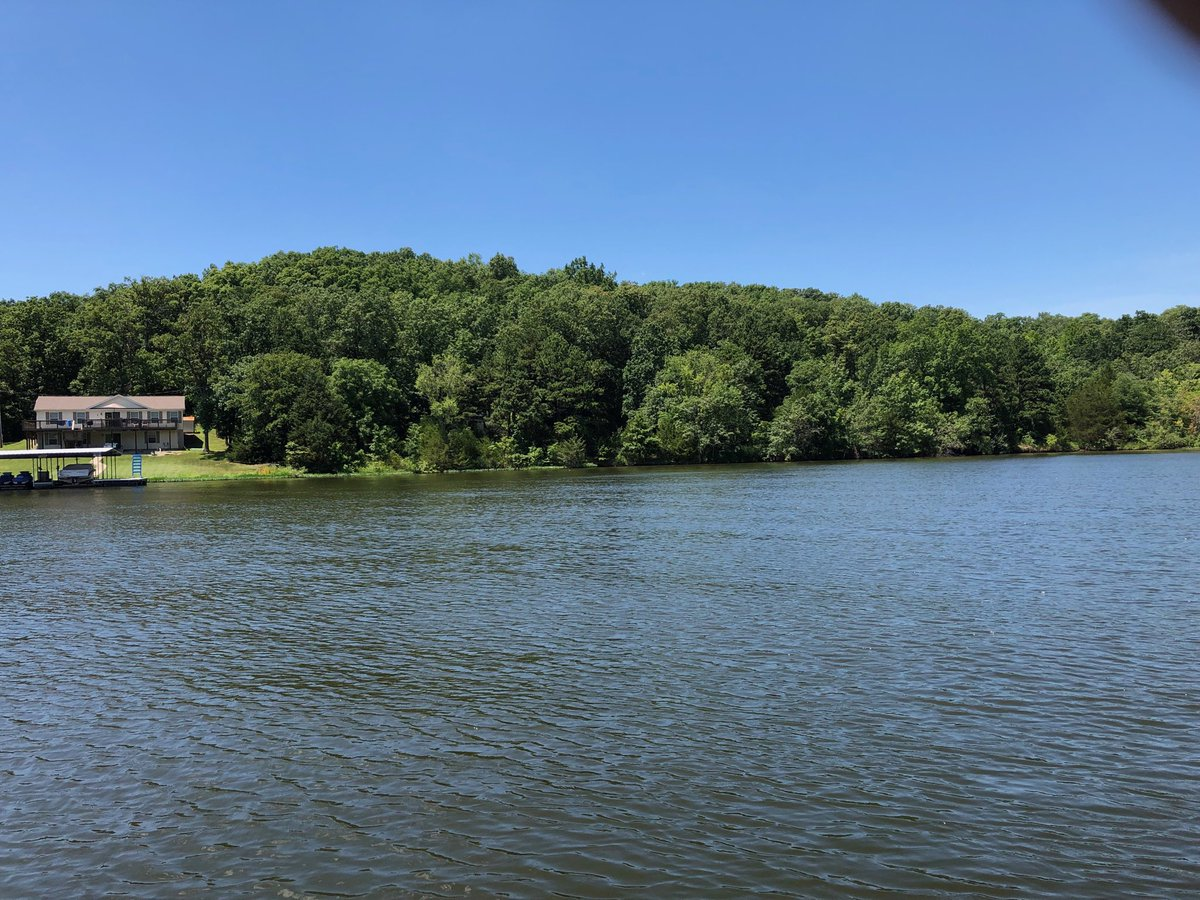Meanwhile, at Lake Of The Ozarks today...