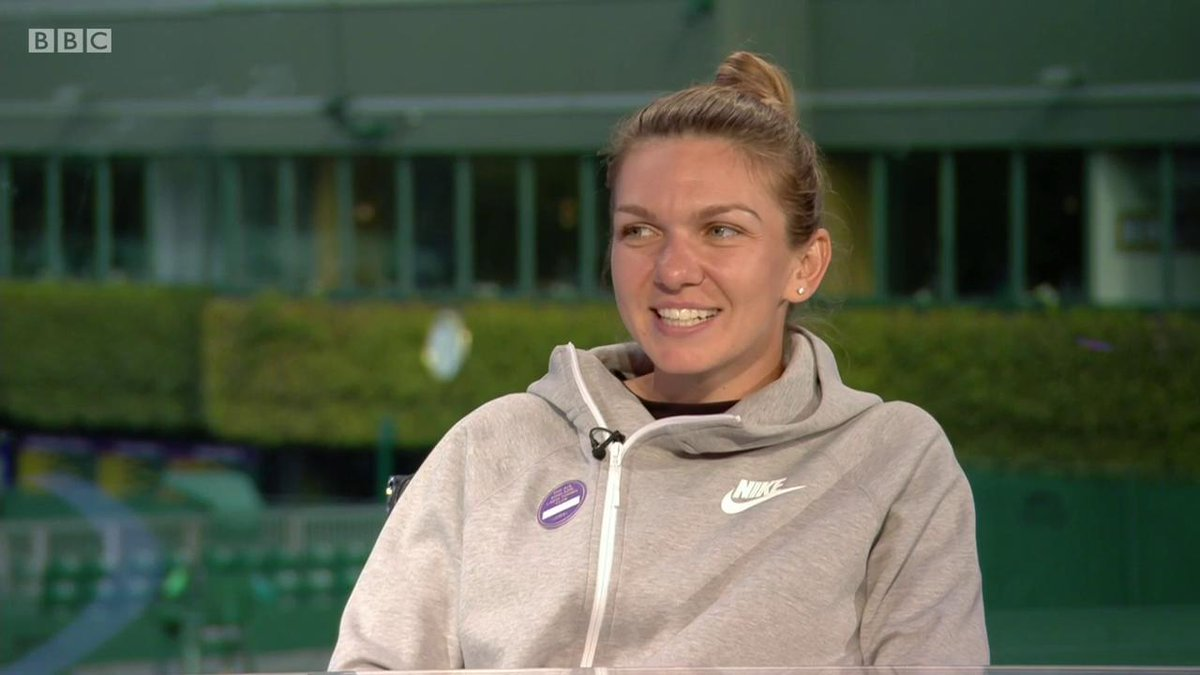 Simona Halep only follows two people on Twitter, one of them being snooker player Mark Selby - here's why 😂#Wimbledon #bbctennis
