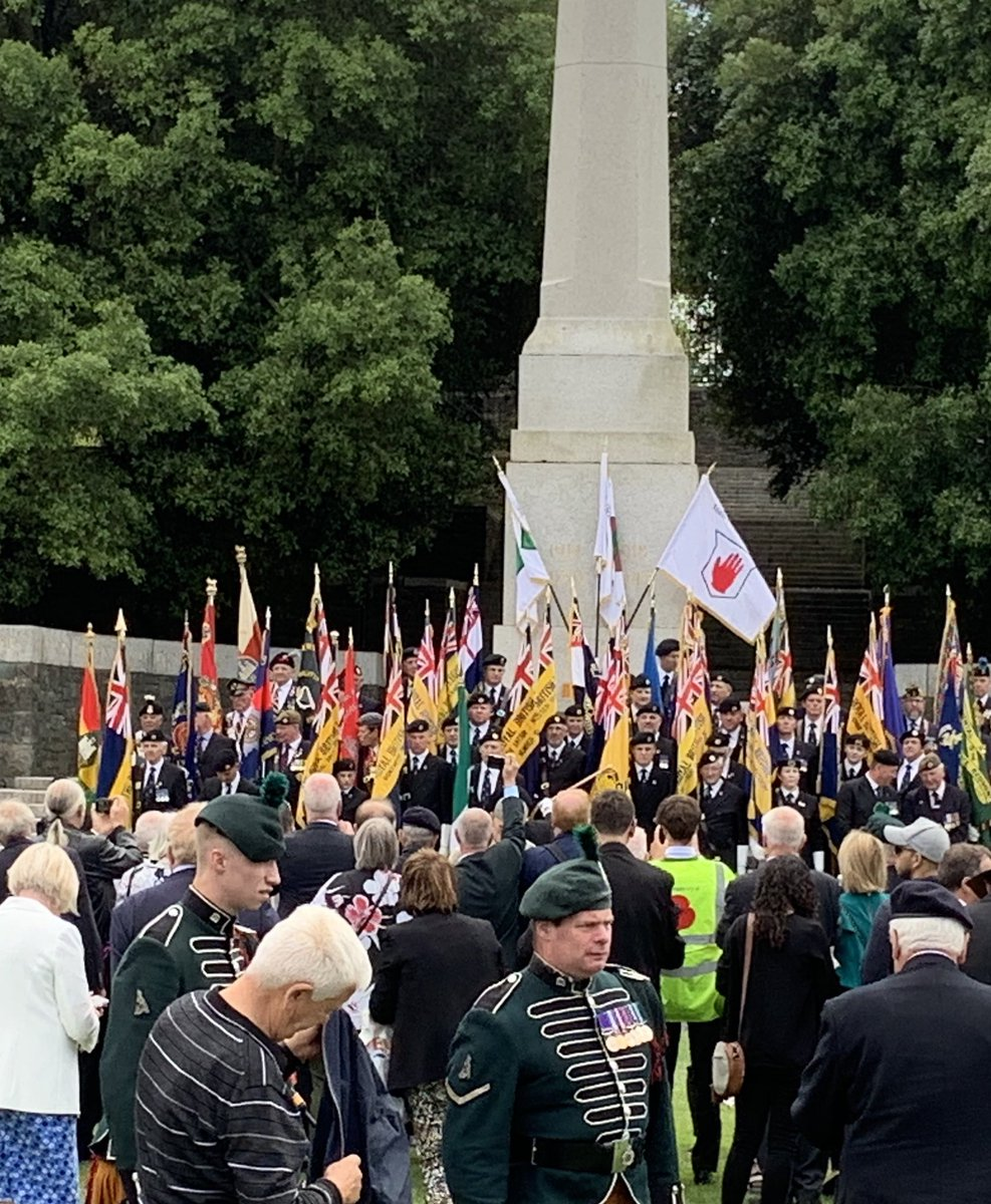 From today's @RBL_Ireland Annual Ceremony of Remberance at Islandbridge....standards and Books containing names of 49,500 men from all over the island of Ireland-every county, every parish-killed in WW1. #WeWillRememberThem #respect<br>http://pic.twitter.com/UlVYGmW22Q