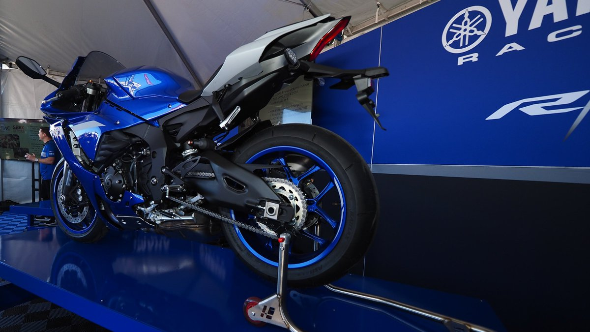 Worldsbk On Twitter Yamaha Reveals All New 2020 Yzf R1 At Laguna