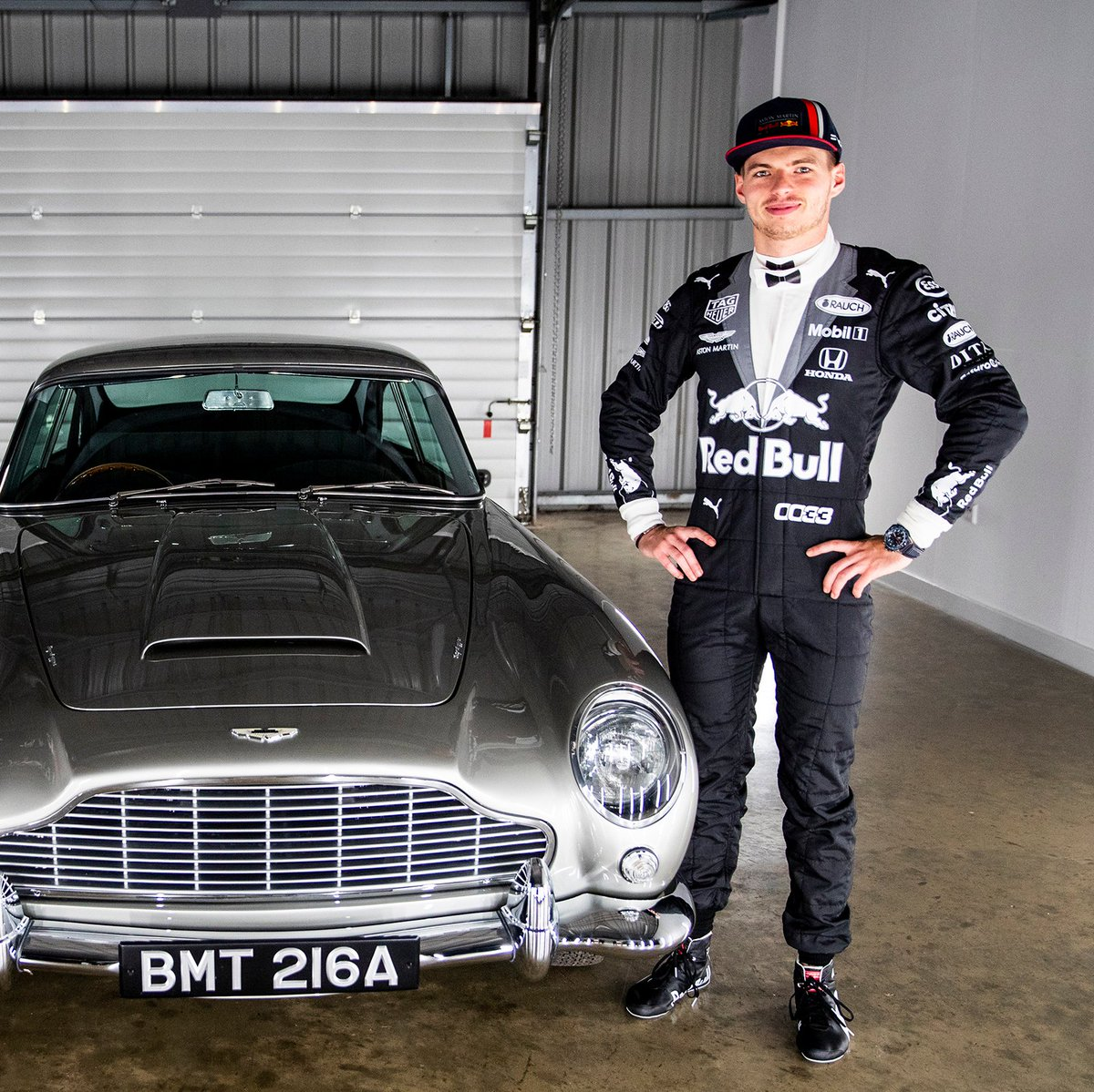 My name is Verstappen, Max Verstappen 😎 @007 #F1007 #BritishGP 🇬🇧