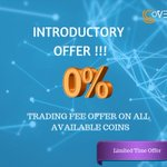 Image for the Tweet beginning: NO Trading FEE Offer is