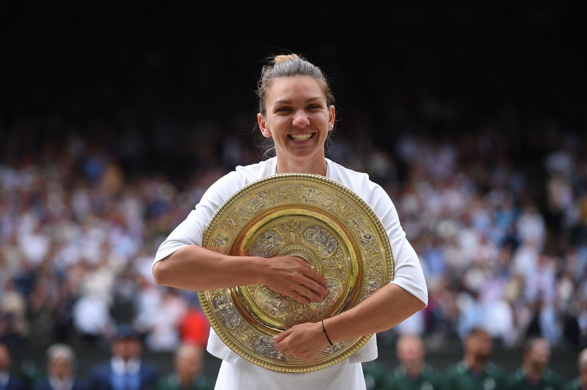 Today I dared to dream... and my dream came true!  It was the greatest match of my life ❤️  #Wimbledon