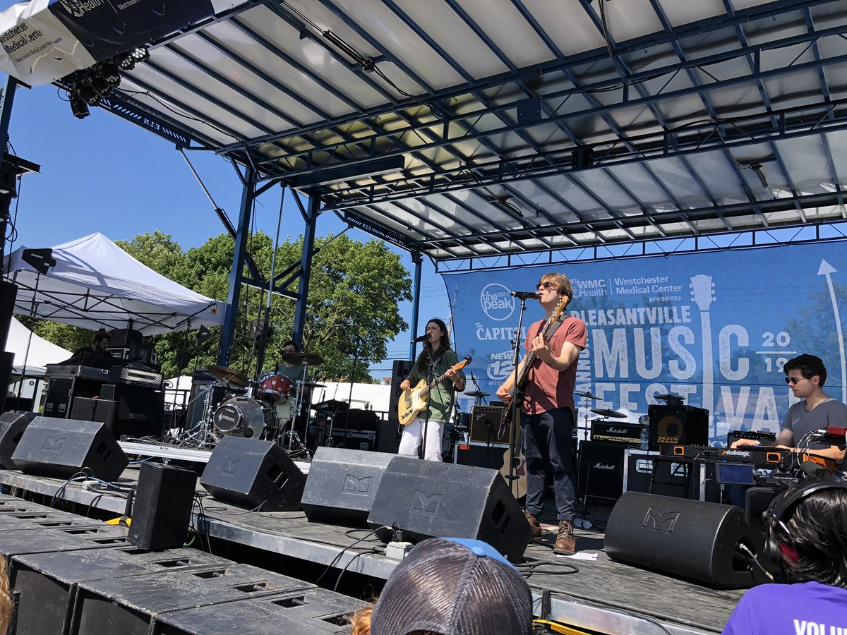 Just saw a set from an act I was not aware of called @BailenTheBand at the @PvilleMusicFest and they were awesome. Great songs, beautiful harmonies & terrific musicianship. New fan! Thanks!