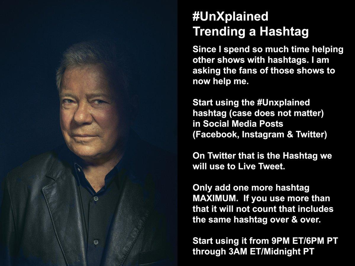 @WilliamShatner's photo on #UnXplained