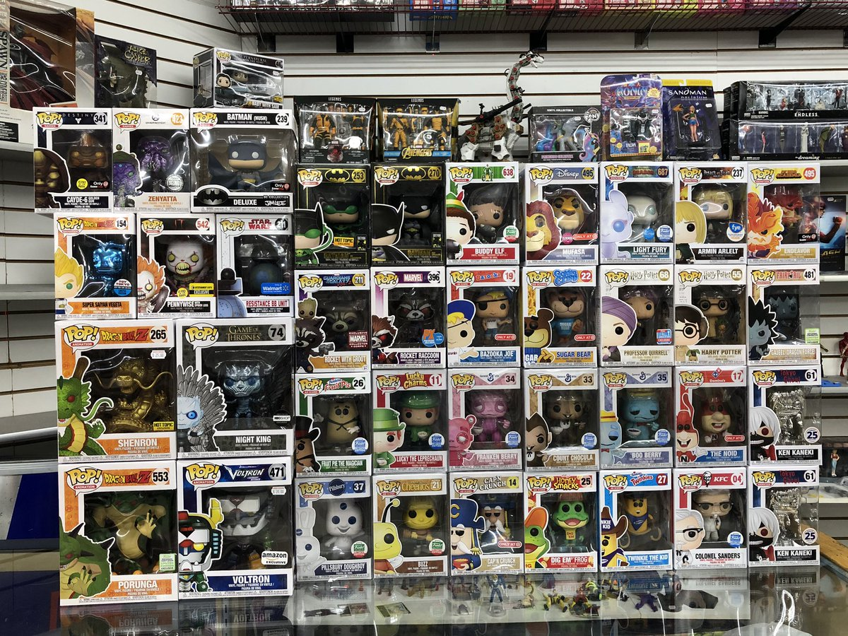 Issa vibe... Stop by H&F this weekend for some great additions to your Funko Pop lot Don't miss out - hurry in!   #Funko #Pop #Collect #Collector #Collectible #FunkoCollector #PopCollector #Fan #Follow #LCS #LocalComicShop #SanAntonio #DBZ #FunkoStore #FunkoShop