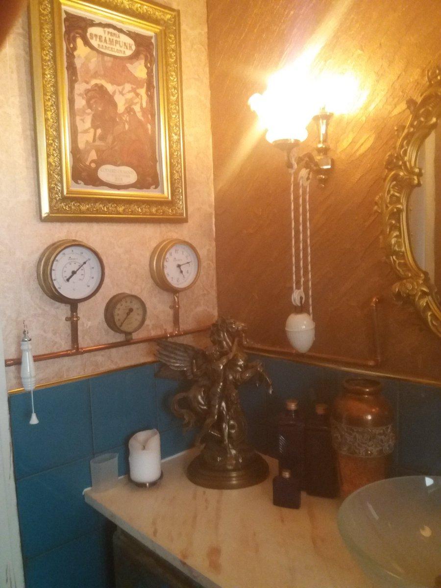 #steampunk bathroom .