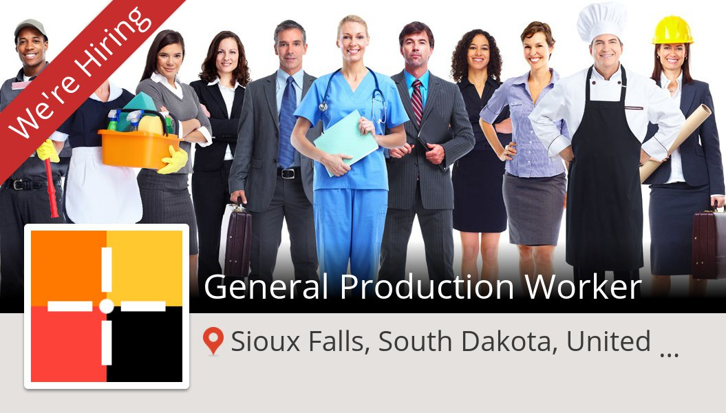 General #Production #Worker needed in #SiouxFalls, apply now at #Spherion! #job https://t.co/XExiAnogOv https://t.co/spJcsZYpsz
