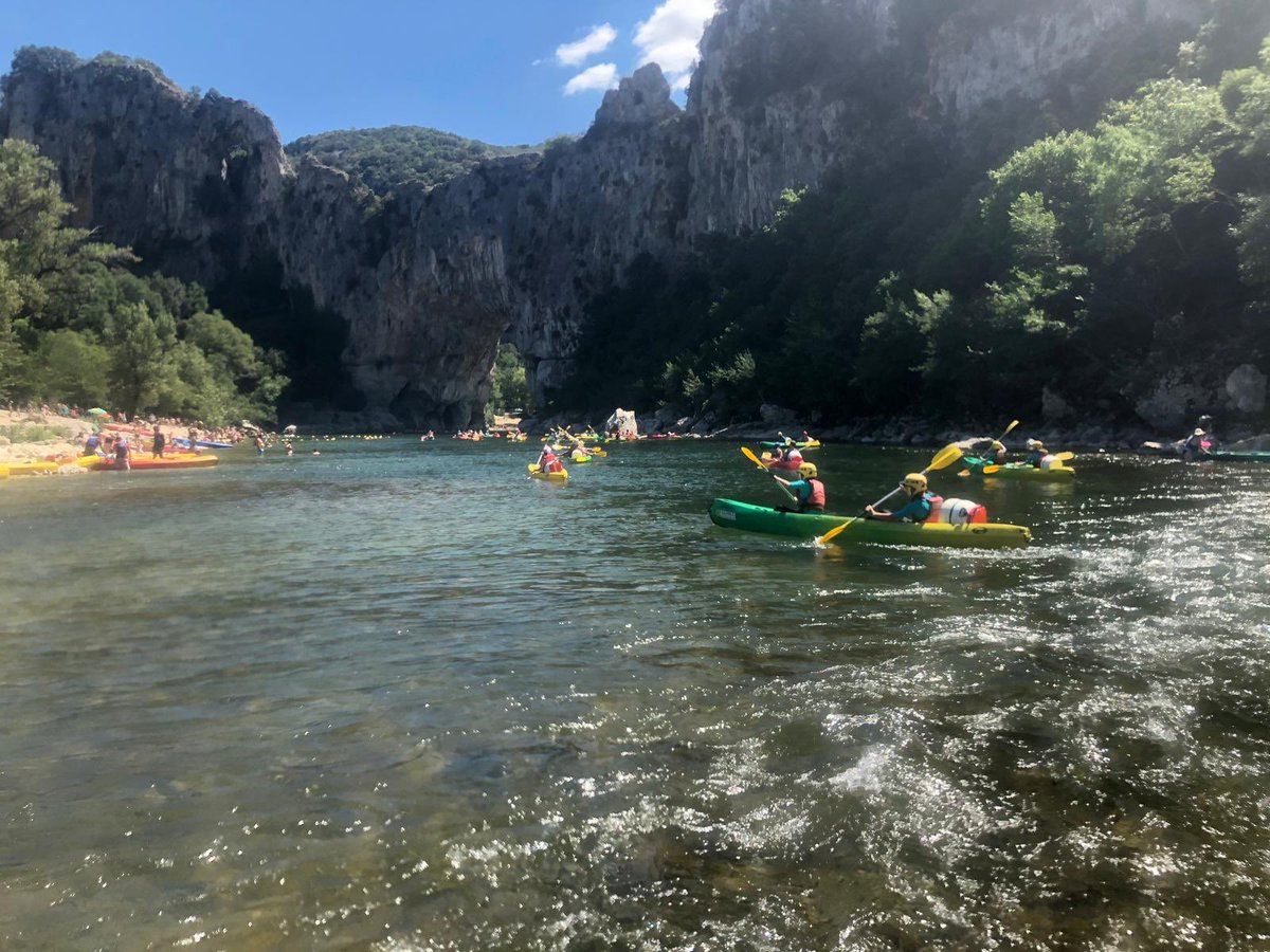 Fancy a paddle? Fantastic day on the  river!  @Rodillian_Ac #FranceResilienceCamp2019