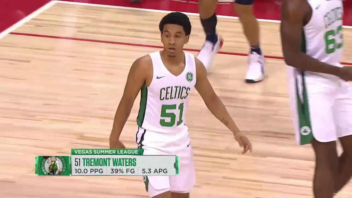 a448bd87443 Tremont Waters wrote a message on his sneakers in memory of his father, who  passed away on Thursday.pic.twitter.com/glKI7y0G6A