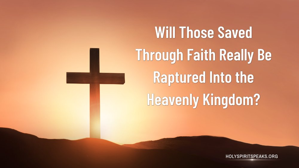 For two thousand years, many #Christians have never known that people aren't able to be directly raptured into the #kingdom of #heaven by being saved through #faith. Why is this? God's word gives us the answer. #mystery #AlmightyGod #Salvation #EndTimes   https://www. holyspiritspeaks.org/Lord-s-redempt ion-and-God-s-judgment/classic-words-of-God-07.html#1  … <br>http://pic.twitter.com/5E0LjBpc4u