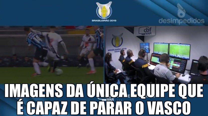 Desimpedidos Auf Twitter A Equipe Do Var Acabou Com O Vasco