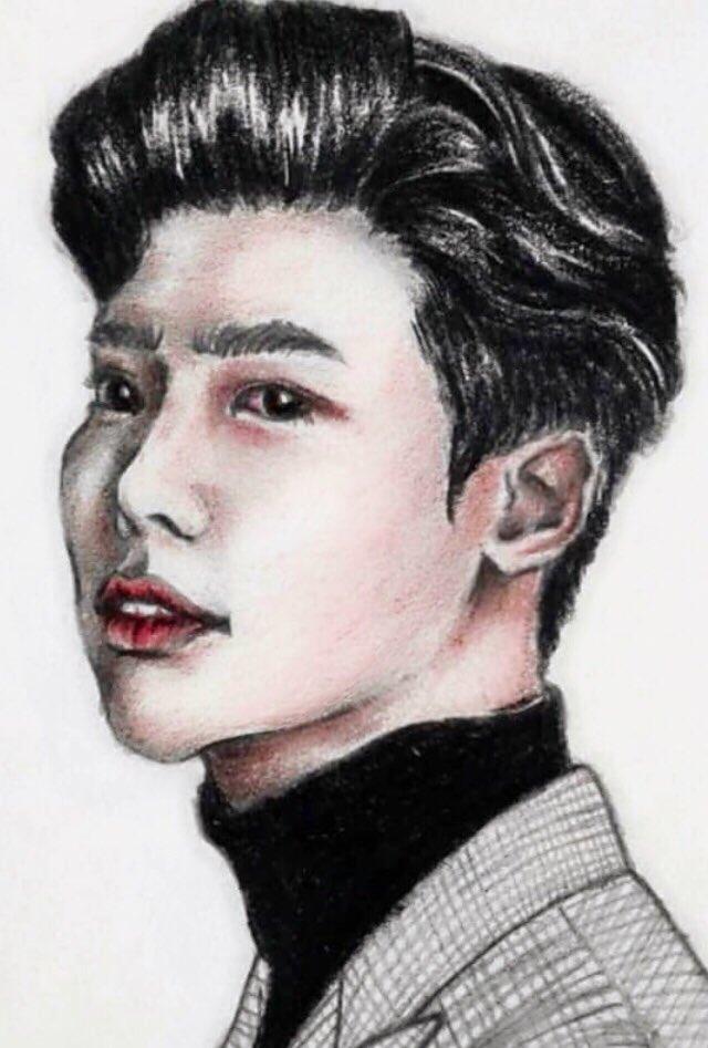 LeeJongSuk #FANART by dash artt IG🤗❤️🐥😊 Credit 👉 https://www