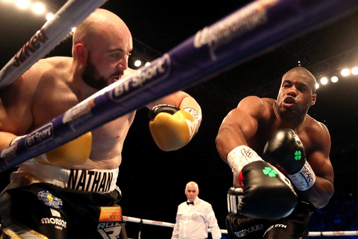Daniel Dubois was an absolute machine tonight, anything Gorman threw at him he just took and kept going. No doubt Nathan will be back though and great to see the crowd firmly behind him. #DuboisGorman