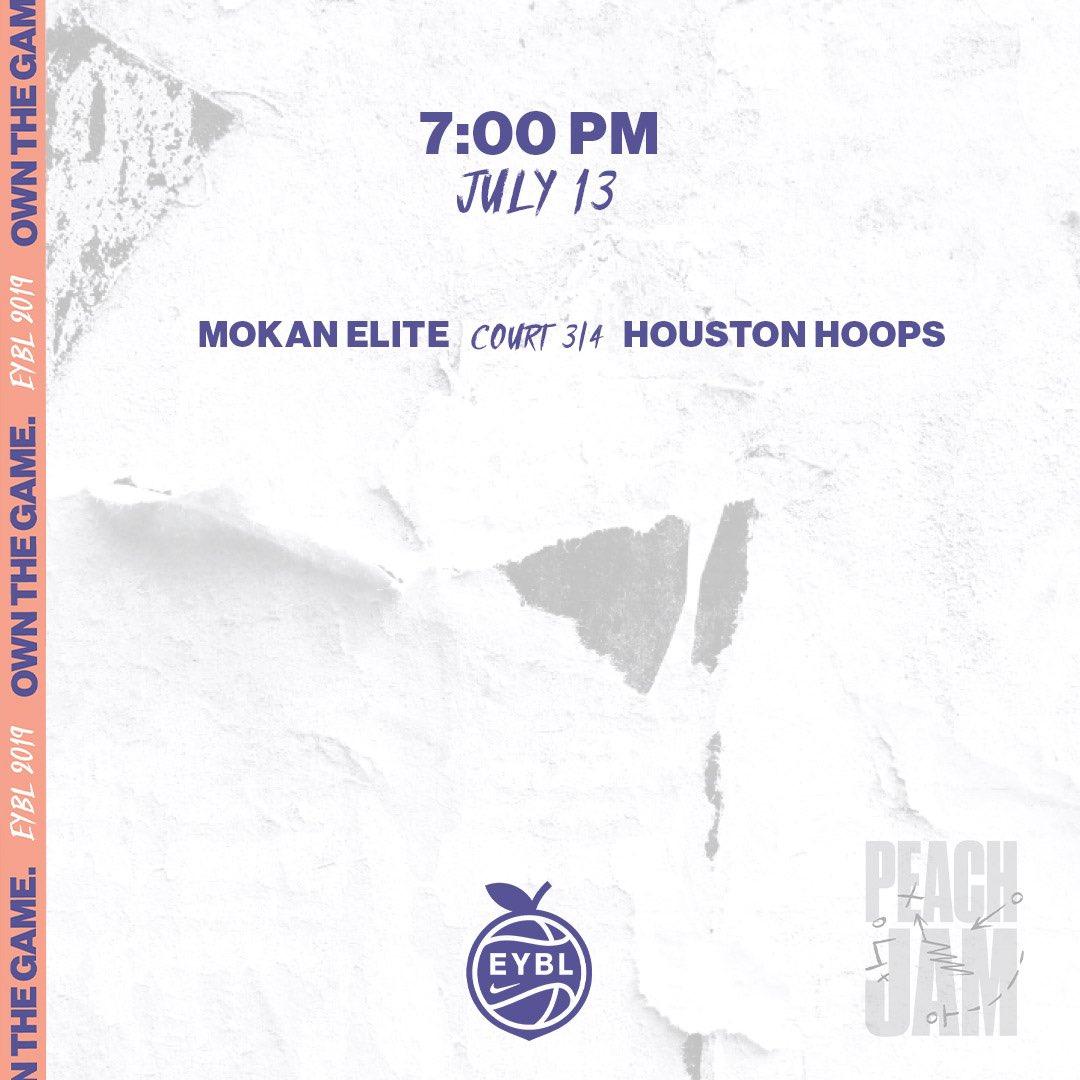 🏀 Saturday, July 13 📍 Augusta, GA ⏰ 7:00PM