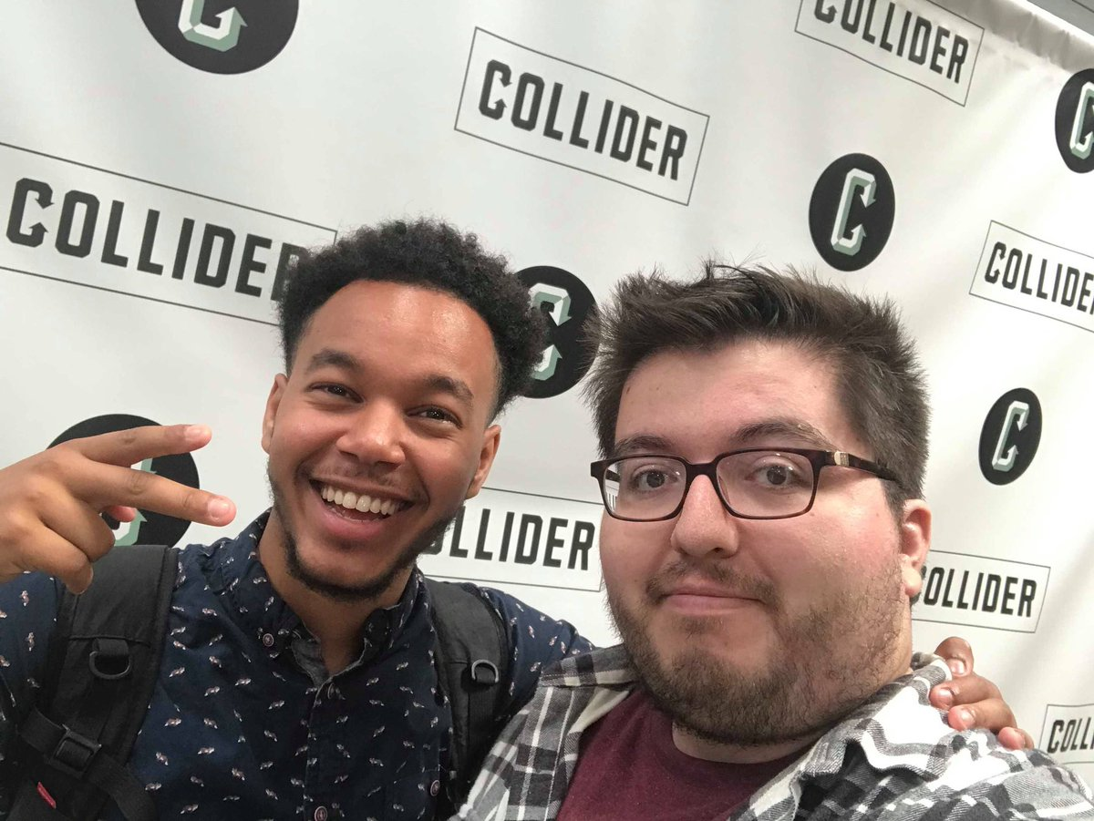 Had a great time visiting Collider with @Whos_Nick @markellislive @KristianHarloff <br>http://pic.twitter.com/2SuXOX1Lor