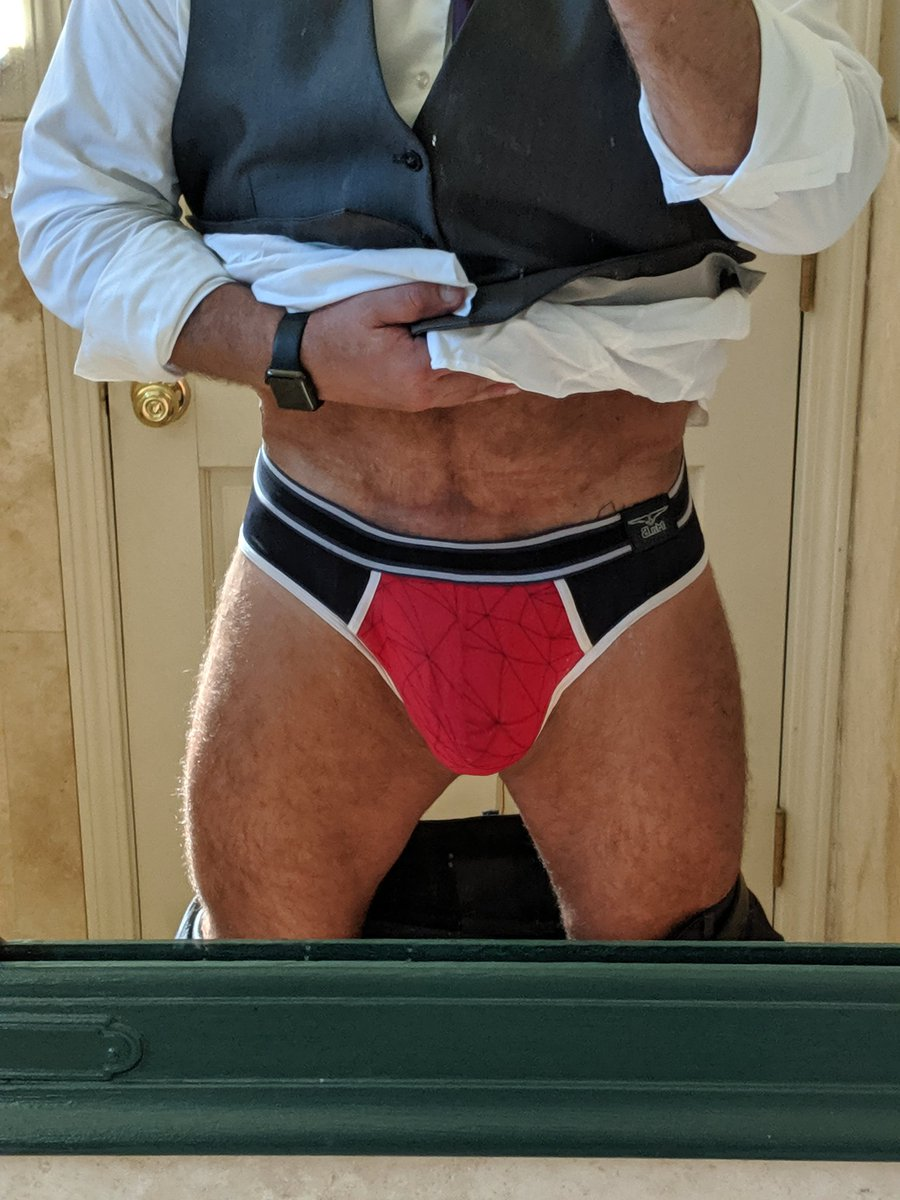 What's under the suit?  #jock #beefybutt #muscledaddy <br>http://pic.twitter.com/ano3FAmMAs
