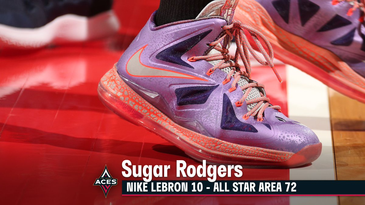 Hey Sug, you got a pair for us? 👀 #WNBAkicks @14Sugar