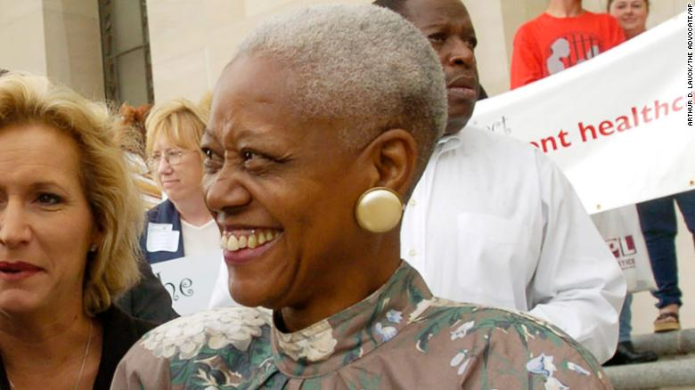 Sadie Roberts-Joseph, 75, an activist and founder of an African-American museum in Baton Rouge, Louisiana, was found dead in the trunk of a car. The cause of death is unknown, police say. cnn.it/2jPPob1