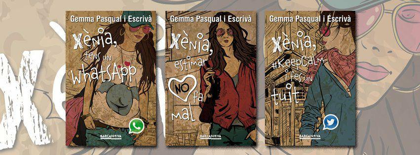 """L'Institut Joan Oró de #Lleida, recomana """"Xènia, tens un whatsapp"""" per al curs 2019-20. Gràcies!"""
