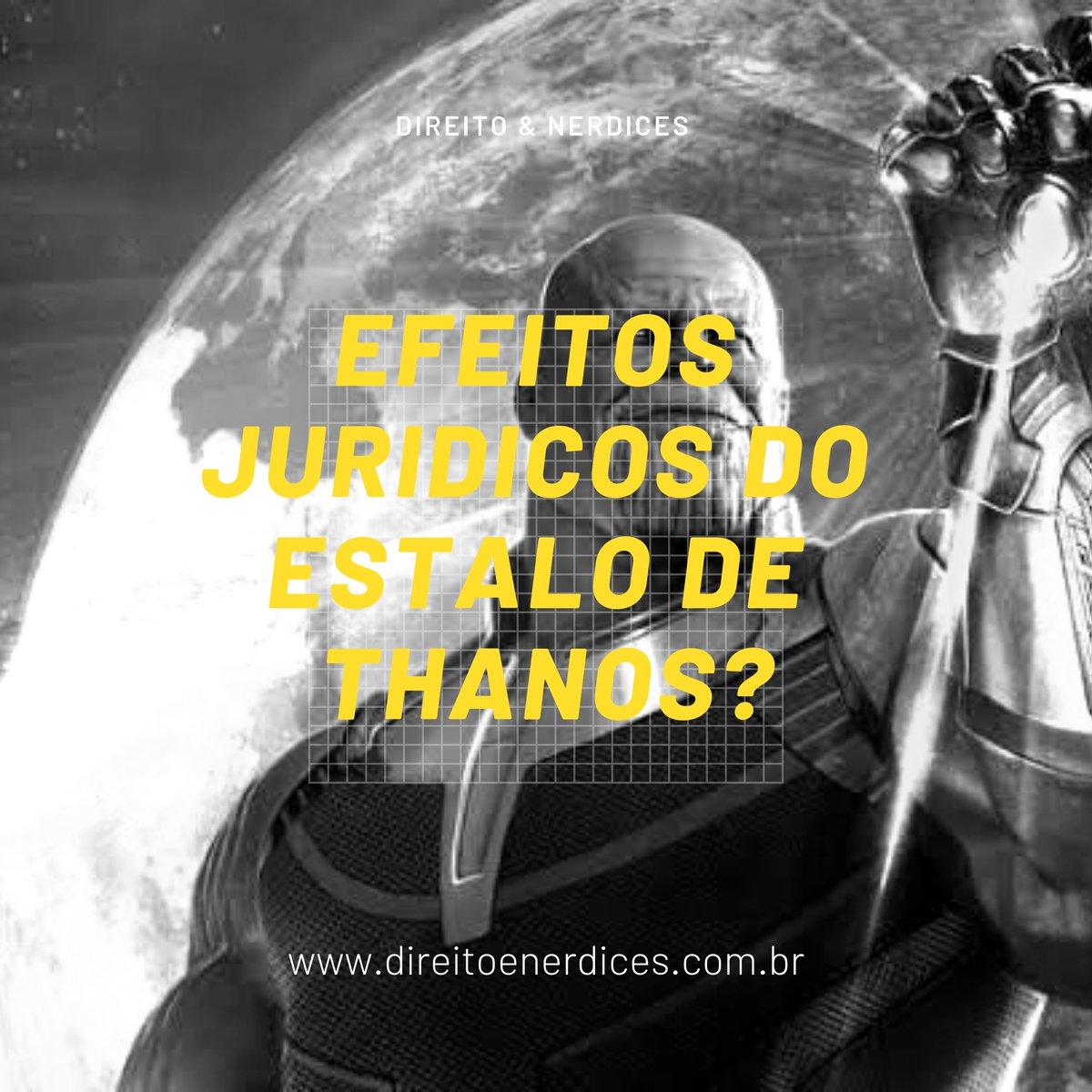 Vamos imaginar o que aconteceria no Brasil após os acontecimentos de Vingadores: Guerra Infinita? https://t.co/oNX8N715e4