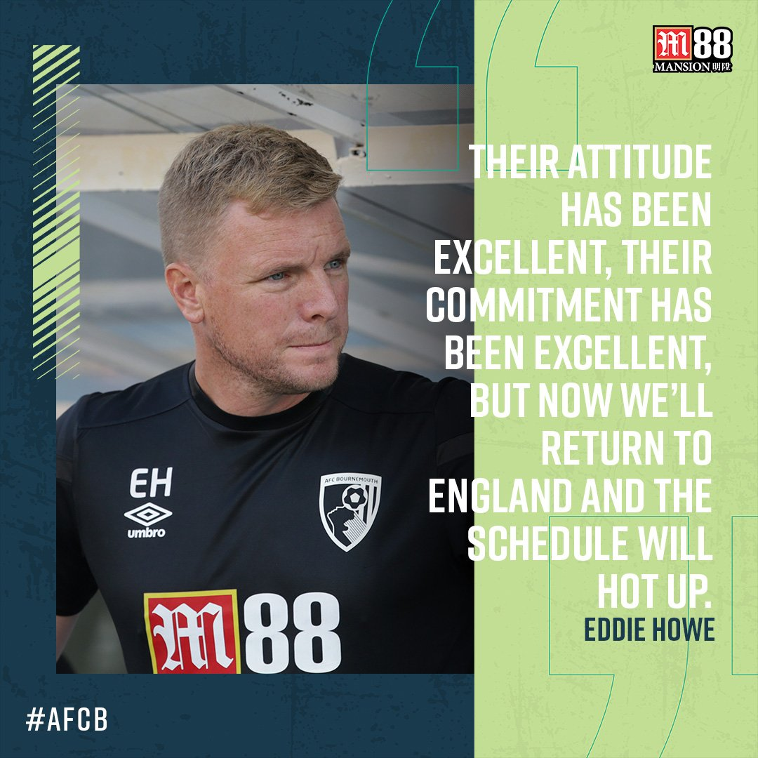 🗣 Eddie Howe gives his view on our second pre-season friendly and a successful ten days in Spain. Full interview 👉 bit.ly/howe-girona #afcb 🍒