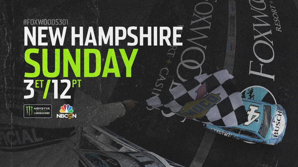 Who wins today and why? @NHMS | #Foxwoods301