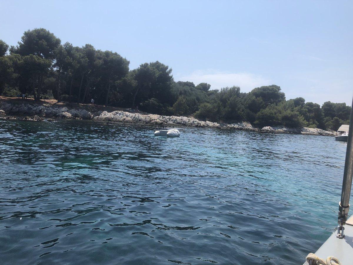Les ïles de Lérins, ce petit paradis sur mer ❤️❤️😎😎 #Cannes #CôtedAzurNow