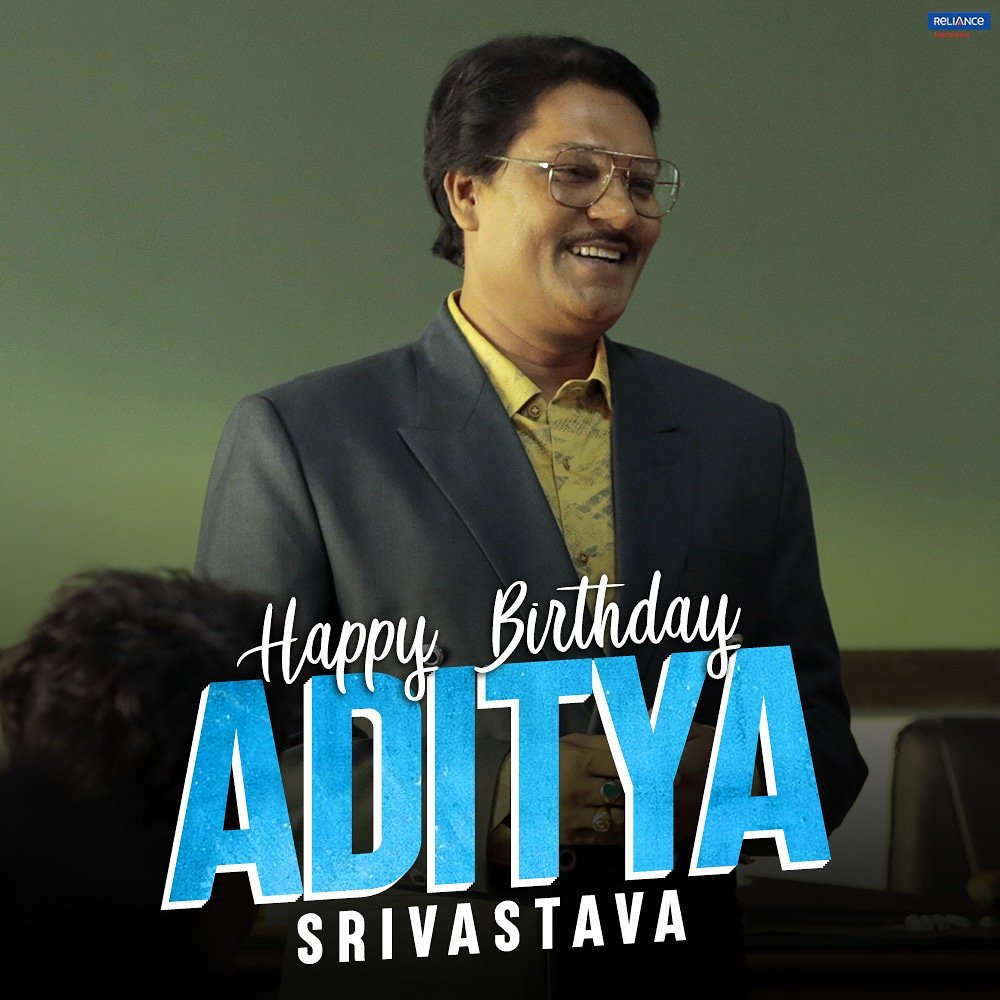 As Lallan Singh, he gave us a taste of his versatility and excellence! Here's wishing #AdityaSrivastava a very happy birthday. #Super30