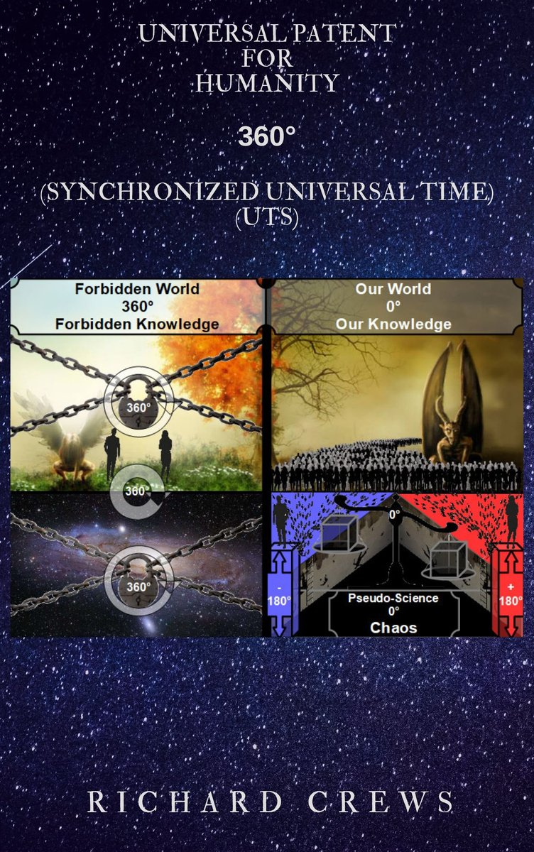 #Antithesis #Humanity can #Control #Time & #Time-#Travel #Pseudo-#Science ↕ #Space-#Time: Divided ↕ #UTC =0°= #Chaos 🇺🇳 ↕ #Humanity: Subdivided  Vs.  #Thesis #Scientific-#Truth ↕ #UTS =360°= #Harmony 🌍 ↕ #Space-#Time: Indivisible ↓ http://bit.ly/UniversalPatent