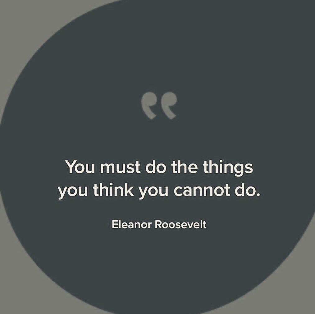 Action cures fear. JUST DO IT #ThinkBIGSundayWithMarsha #attitude #JustDoIt #startup