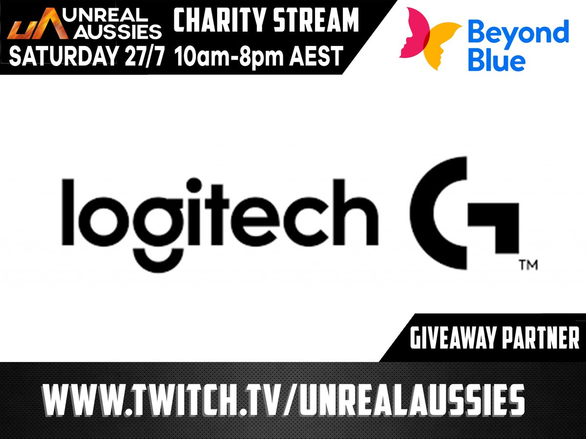 A household name in gaming, @LogitechG_ANZ has kindly supplied some peripherals to #giveaway to some lucky viewers on the day -  Make sure you tune in for your chance to win!  #twitch #twitchanz #teamoce #charitygaming
