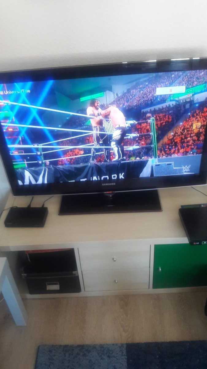 Wow since @AJStylesOrg came to @WWE i dreamed about this him versus @WWERollins and to see it happening ON PPV at #MITB via the @WWENetwork makes me very happy, do you remember this @Matthew22596990 @WWEUniverse #UniversalTitle