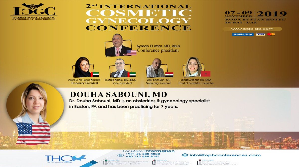 International Cosmetic Gynecology Conference 2019 ✨ It'
