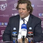 Image for the Tweet beginning: Hear from Coach Des Hasler