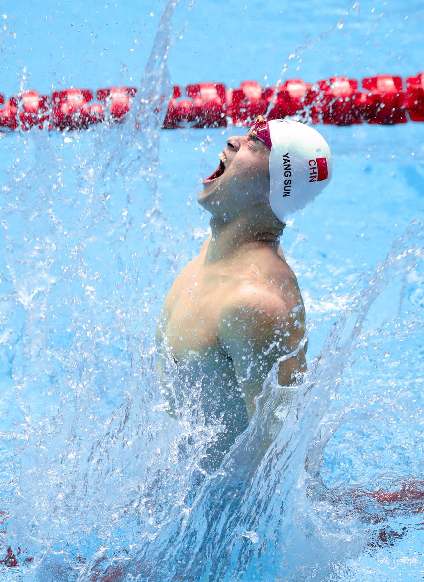 China's Sun Yang wins fourth consecutive 400m freestyle title at FINA worlds#FINAGwangju2019